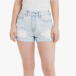 American Eagle Distressed Mom Shorts   size 8